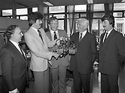 Presentation of Irish National Insurance, Board Room, Dawson St., Dublin,<br /> 31st May 1984