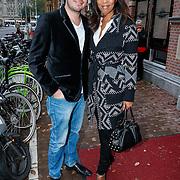 NLD/Amsteram/20121024- Presentatie biografie Joop van den Ende, Caroline Dijkhuizen en Rudy Hellewegen