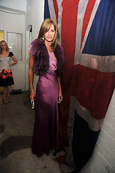 TRINNY WOODALL at the opening of his pop up shop at 35 South Audley Street, London W1 on 19th September 2009.