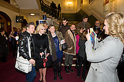 KATHERINE JENKINS AND JOURNALISTS SAM AND BETH FROM CLOSER MAGAZINE. MATTHEW WILLIAMSON GLANCING OVER, CIRQUE DU SOLEIL LONDON PREMIERE OF VAREKAI. Royal albert Hall. 5 January 2009 *** Local Caption *** -DO NOT ARCHIVE-© Copyright Photograph by Dafydd Jones. 248 Clapham Rd. London SW9 0PZ. Tel 0207 820 0771. www.dafjones.com.<br /> KATHERINE JENKINS AND JOURNALISTS SAM AND BETH FROM CLOSER MAGAZINE. MATTHEW WILLIAMSON GLANCING OVER, CIRQUE DU SOLEIL LONDON PREMIERE OF VAREKAI. Royal albert Hall. 5 January 2009