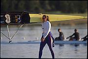 Sydney, AUSTRALIA,  GBR W2-, Cath BISHOP  2000 Olympic Regatta, West Lakes Penrith. NSW.  [Mandatory Credit. Peter Spurrier/Intersport Images] Sydney International Regatta Centre (SIRC) 2000 Olympic Rowing Regatta00085138.tif