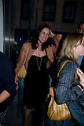 TRISHA SIMONON, Tracey Emin opening. White Cube. Mason's Yard. London. 28 May 2009.
