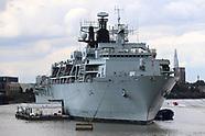 HMS Albion, Royal Navy Amphibious Transport Dock, Greenwich