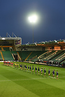 Rugby Union - 2020 / 2021 ER Challenge Cup - Quarter-final - Northampton Saints vs Ulster - Franklin Gardens<br /> <br /> Players observe a two minutes silence in memory of HRH Prince Philip, Duke of Edinburgh<br /> <br /> COLORSPORT/ASHLEY WESTERN