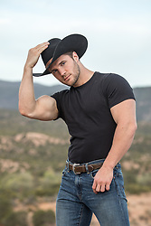 cowboy with great arms