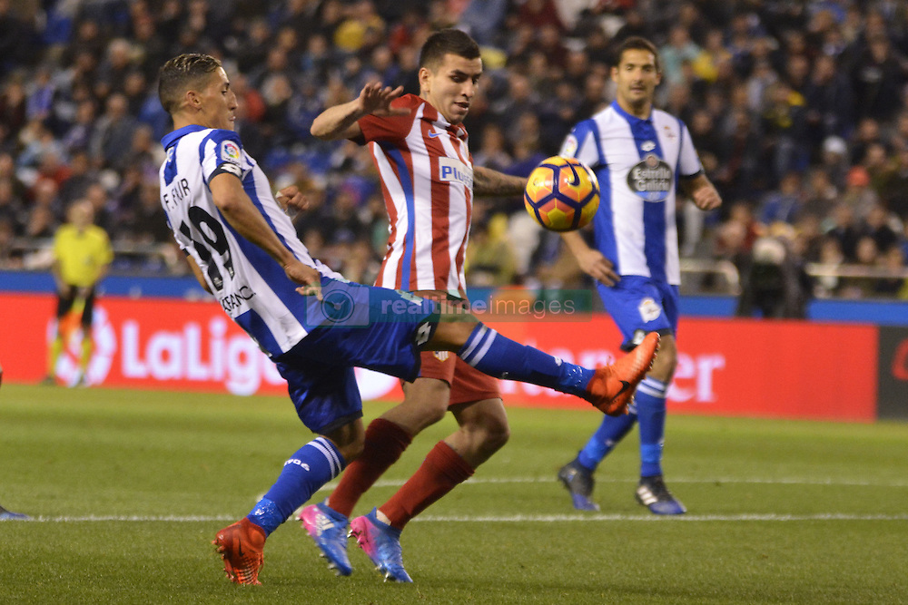 March 2, 2017 - La Coruna, Spain - Fayçal. La Liga Santander Matchday 25. Riazor Stadium, La Coruna, Spain. March 02, 2017. (Credit Image: © Monica Arcay Carro/VW Pics via ZUMA Wire/ZUMAPRESS.com)