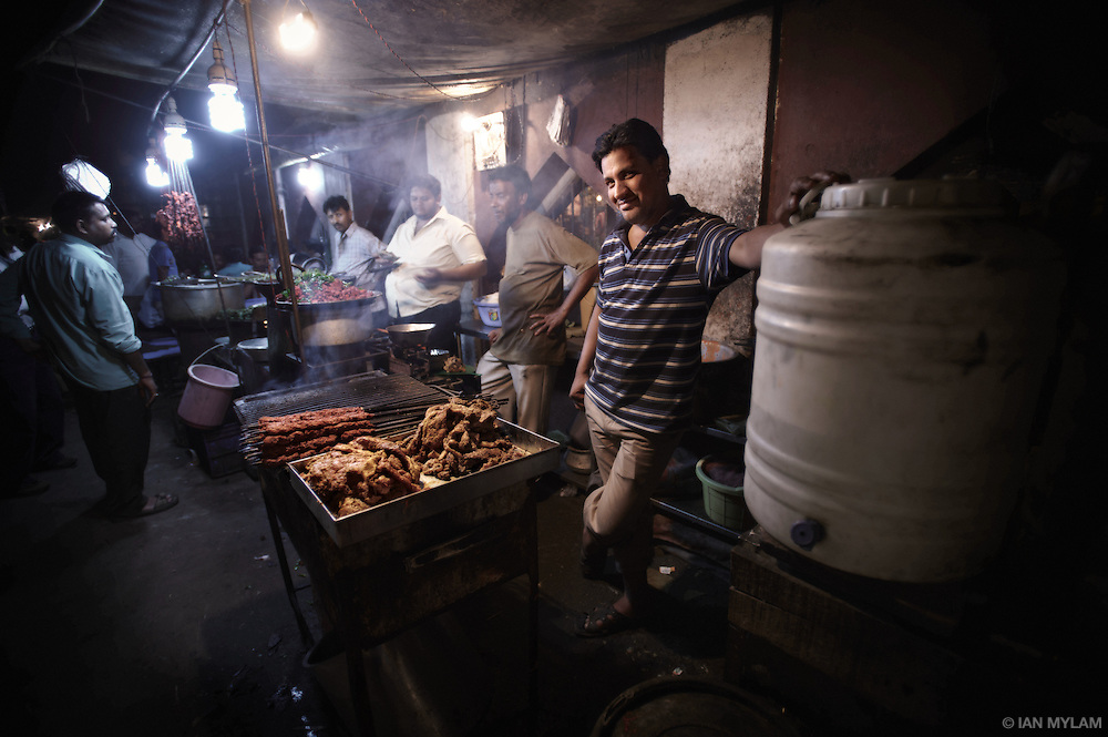 Street-Food Vendors - Night market, Bangalore, India