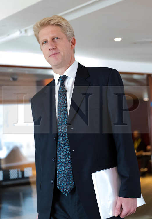 © Licensed to London News Pictures. 29/11/2018. London, UK.  Jo Johnson MP arrives to speak about developments in the Brexit debate at a People's Vote Campaign event held at the Southbank Centre in London.  Photo credit: Vickie Flores/LNP