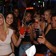Miss Nederland 2003 reis Turkije, disco