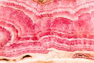 Close up of cut rock slab