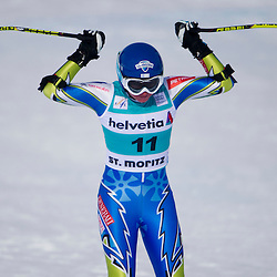20120129: SUI, Alpine Ski - FIS World Cup, Ladies Super Combined in St. Moritz