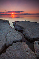 Sunset, Oak Ledge Park, Lake Champlain, Vermont