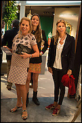 EVA O'NEILL;, MILANA ABENSPERG UND TRAUN; COUNTESS NATASCHA ABENSPERG UND TRAUN, Masterpiece London 2014 Preview. The Royal Hospital, Chelsea. London. 25 June 2014.