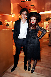 BOBBY SHEEHAN and PALOMA FAITH at a party to celebrate the opening of the Louis Vuitton Bond Street Maison, New Bond Street, London on 25th May 2010.