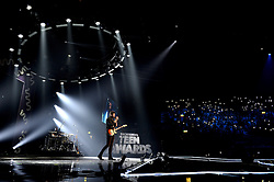 Shawn Mendes on stage at the BBC Radio 1 Teen Awards, held at the SSE Wembley Arena, London.<br /> <br /> Picture date: Sunday, 23 October, 2016. Photo credit should: Doug PetersEMPICS Entertainment