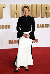 at the Darkest Hour UK Premiere at the Odeon Leicester Square in London, UK. 11 Dec 2017 Pictured: Lisa Bruce. Photo credit: MEGA TheMegaAgency.com +1 888 505 6342