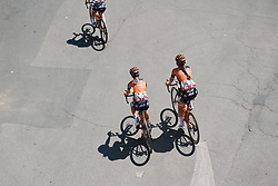 Boels Dolmans at Strade Bianche - Elite Women 2020, a 136 km road race starting and finishing in Siena, Italy on August 1, 2020. Photo by Sean Robinson/velofocus.com