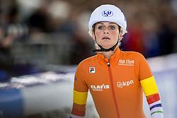 10-12-2016 NED: ISU World Cup Speed Skating, Heerenveen<br /> Massasprint vrouwen Irene Schouten #14 pakt zilver