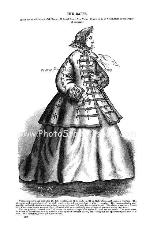 The Calpe Godey's Lady's Book and Magazine, August, 1864, Volume LXIX, (Volume 69), Philadelphia, Louis A. Godey, Sarah Josepha Hale,
