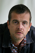 British crime writer Mark Billingham is pictured at the Edinburgh International Book Festival prior to talking about his work. The Edinburgh International Book Festival is the world's largest literary event, with over 500 authors from across the world participating each year and ran from 13-29 August. Edinburgh was named the world's first UNESCO City of Literature in 2004.