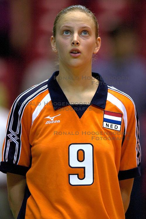 17-06-2000 JAP: OKT Volleybal 2000, Tokyo<br /> Nederland - Italie 2-3 / Chaine Staelens