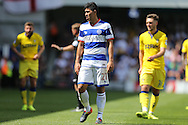 Olamide Shodipo of QPR looks on. Skybet EFL championship match, Queens Park Rangers v Leeds United at Loftus Road Stadium in London on Sunday 7th August 2016.<br /> pic by John Patrick Fletcher, Andrew Orchard sports photography.