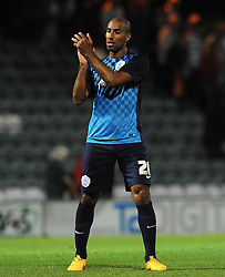 QPR's Karl Henry- Photo mandatory by-line: Harry Trump/JMP - Mobile: 07966 386802 - 11/08/15 - SPORT - FOOTBALL - Capital One Cup - First Round - Yeovil Town v QPR - Huish Park, Yeovil, England.