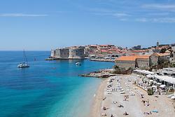 15.05.2017, Dubrovnik, CRO, Tourismus in Kroatien, im Bild ein Warmer und sonniger Tag, wo die Touristen ein Sonnenbad und das Schwimmen im Meer geniessen // Warm and sunny day where tourists enjoyed sunbathing and swimming in the sea in Dubrovnik, Croatia on 2017/05/15. EXPA Pictures © 2017, PhotoCredit: EXPA/ Pixsell/ Grgo Jelavic<br /> <br /> *****ATTENTION - for AUT, SLO, SUI, SWE, ITA, FRA only*****