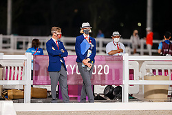 FEI Steward, LANGE Susanne (GER)<br /> Olympic Games Tokyo 2021<br /> © Hippo Foto - Stefan Lafrentz<br /> 27/07/2021