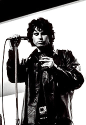 The Doors frontman Jim Morrison performing on stage. Circa 1967