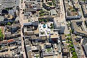 Nederland, Gelderland, Nijmegen, 09-06-2016; binnenstad Nijmegen, kermis op Plein 1944.<br /> <br /> Town of Nijmegen, inner city.<br /> luchtfoto (toeslag op standard tarieven);<br /> aerial photo (additional fee required);<br /> copyright foto/photo Siebe Swart