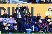 Everton Caretaker Manager Duncan Ferguson barks out orders during the Premier League match between Everton and Arsenal at Goodison Park, Liverpool, England on 21 December 2019.
