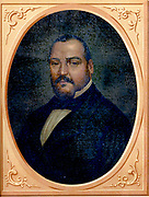 Ignacio Comonfort (1812-1863) Mexican politician and soldier.  Presidentof Mexico 15 September 1855-21 January 1858, when he resigned.