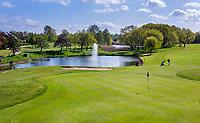 GOES -  Hole 16 . Golfbaan De Goese Golf,   op Zuid-Beveland, COPYRIGHT  KOEN SUYK