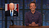 """April 29, 2021 - NY: NBC's """"Late Night With Seth Meyers"""" - Episode 1138A"""