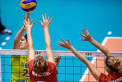 24-08-2017 NED: World Qualifications Belgium - Slovenia, Rotterdam<br /> Tina Grudina #21 of Slovenia<br /> Photo by Ronald Hoogendoorn / Sportida