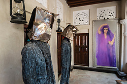 XVA hotel and art gallery in Bastakiya old district of Bur Dubai in United Arab Emirates