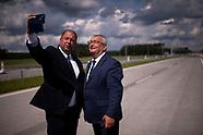 Premier Mateusz Morawiecki otworzył kolejny odcinek drogi Via Baltica - 9.08.2021