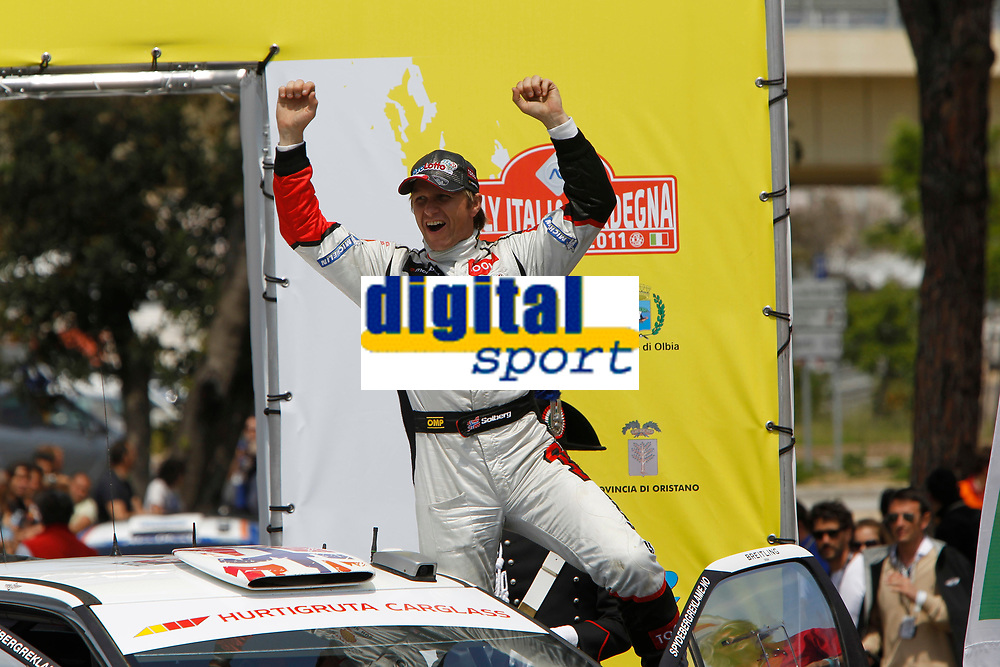 MOTORSPORT - WRC 2011 - RALLYE ITALIA SARDEGNA - OLBIA (ITA) - 05/05 TO 08/05/2011 - PHOTO : FRANCOIS BAUDIN / DPPI SOLBERG PETTER (NOR) - CITROËN DS 3 WRC - PETTER SOLBERG WRT - AMBIANCE PORTRAIT