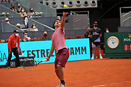 Carlos Alcaraz of Spain during the Mutua Madrid Open 2021, Masters 1000 tennis tournament on May 3, 2021 at La Caja Magica in Madrid, Spain - Photo Laurent Lairys / ProSportsImages / DPPI