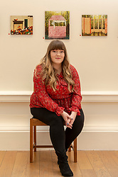 RSA New Contemporaries takes place at the Royal Scottish Academy, Edinburgh, from 9 March to 3 April 2019. Showcasing 63 graduates selected from the 2018 degree shows, this exhibition offers an opportunity to see the best of Scotland's emerging talent under one roof. <br /> <br /> Pictured: Samantha Cheevers, 23, from Port Glasgow, who is the winner of the Glenfiddich Residency Award, worth £10,000, the largest award for an emerging artist in Scotland.<br /> <br /> ** Note use of pictures is embargoed to 8pm on 8/3/2019 **