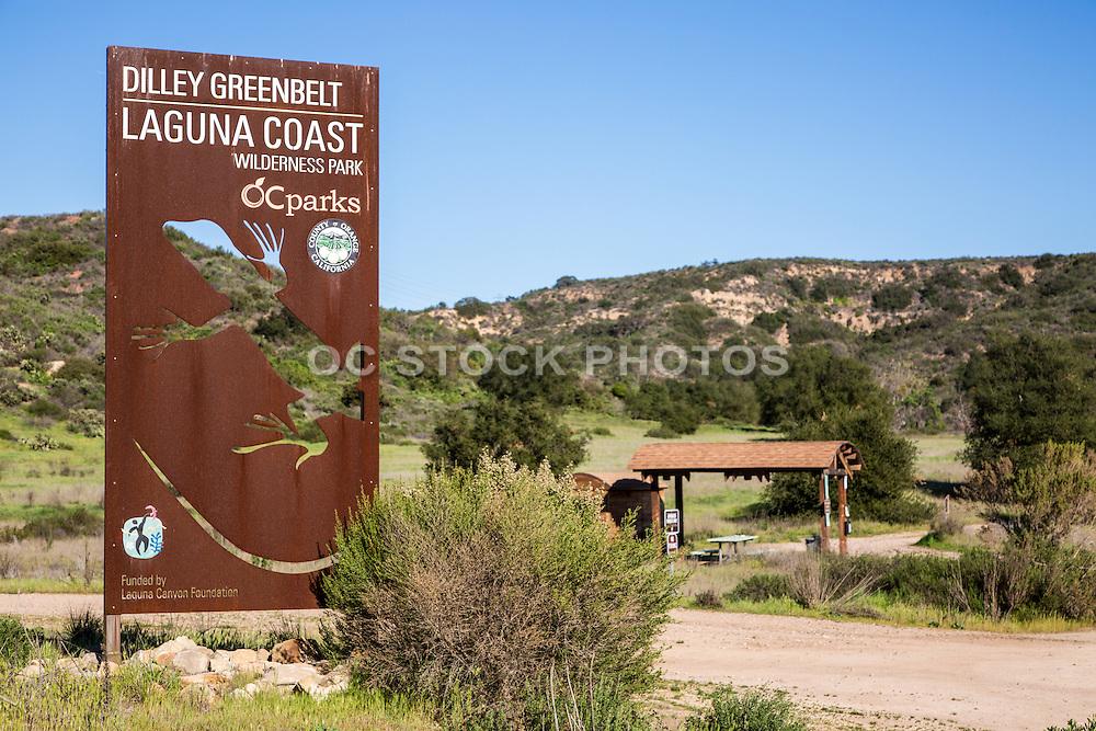 Dilley Greenbelt Laguna Coast Wilderness Park in Laguna Beach California