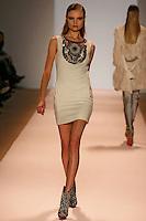 Magdalena Frackowiak wearing the Matthew WIlliamson Fall 2009 Collection