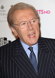 © Licensed to London News Pictures. 01/09/13 Sir David Frost dies. FILE PICTURE: Sir David Frost The South Bank Sky Arts Awards, Dorchester Hotel, Park Lane, London, UK, 25 January 2011. Photo credit : Richard Goldschmidt/Piqtured/LNP