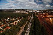 Nova Lima_MG, Brasil.<br /> <br /> Mina de Capao Xavier, em Nova Lima, proxima ao Bairro Jardim Canada.<br /> <br /> Capao Xavier mine in Nova Lima, near Jardim Canada neighborhood.<br /> <br /> Foto: JOAO MARCOS ROSA / NITRO