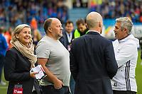 Fotball , 24 September 2016 , Tippeligaen , Eliteserien , Molde - Rosenborg , Kåre Ingebrigtsen , Tove Dyrhaug , Ivar Koteng<br /> <br /> Foto: Marius Simensen, Digitalsport