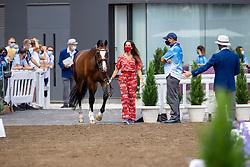 Pauluis Larissa, BEL, Flambeau, 110<br /> Olympic Games Tokyo 2021<br /> © Hippo Foto - Dirk Caremans<br /> 23/07/2021
