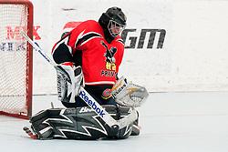 Gasper Kroselj of HK Prevoje at semifinal match of IZS Masters 2011 inline hockey between HK Prevoje and DPH Itaksport.com Kranj, on June 4, 2011 in Sportni park, Horjul, Slovenia. (Photo by Matic Klansek Velej / Sportida)