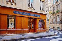 France, Paris (75), Mariage Freres, 13 rue des Grands Augustins, 75006