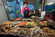 Itaewon. Traditional Korean Food.